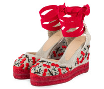 Wedges - BEIGE/ ROT