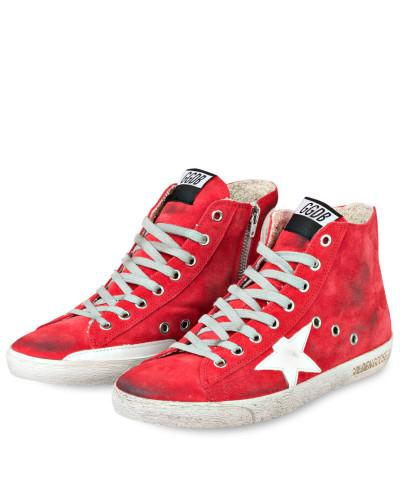 Hightop-Sneaker FRANCY - ROT/ WEISS