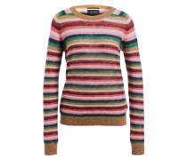 Pullover - rosa/ grün/ blau