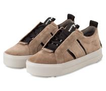 Plateau-Sneaker MEGA - BEIGE
