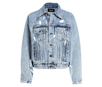 Destroyed-Jeansjacke