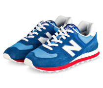 Sneaker ML574 - BLAU/ ROT/ WEISS