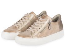 Sneaker - beige metallic