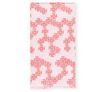 Cashmere-Schal mit Seide