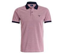 Piqué-Poloshirt - rosa/ rot