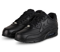 Sneaker AIR MAX 90 LEATHER - SCHWARZ
