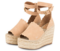 Wedges LAUREN - REEF SHELL