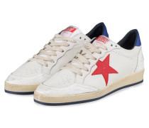 Sneaker BALL STAR - WEISS/ ROT/ BLAU