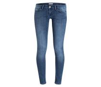 Skinny-Jeans BLUE SATIN - denim blue