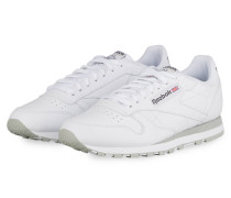 Sneaker CLASSIC LEATHER - WEISS/ HELLGRAU