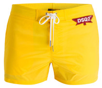 Badeshorts - gelb