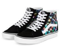 High-Top Sneaker - SCHWARZ/ WEISS/ VIOLETT