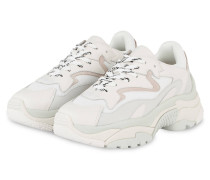 Plateau-Sneaker ADDICTION - WEISS