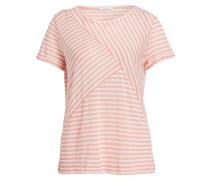 T-Shirt SESTA - lachs/ weiss