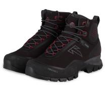 Trekking-Schuhe FORGE S GTX - SCHWARZ/ ROT