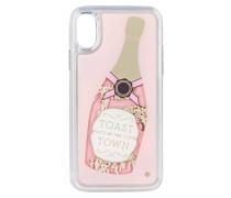 iPhone-Hülle CHAMPAGNE GLITTER - rosa