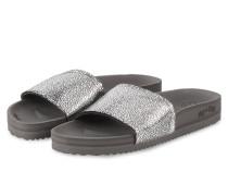Sandalen POOL - grau/ silber