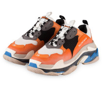 Sneaker TRIPLE S - ORANGE/ GRAU/ CREME