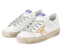 Plateau-Sneaker SUPERSTAR - WEISS/ GOLD