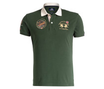 Piqué-Poloshirt CONTRERAS Slim-Fit - grün