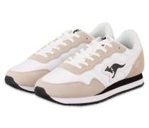 Sneaker INVADER 40 - WEISS/ BEIGE