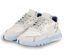 Sneaker NITE JOGGER - ECRU/ HELLBLAU
