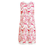 Kleid - weiss/ pink
