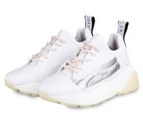 Plaetau-Sneaker ECLYPSE - WEISS