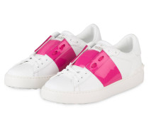 Sneaker OPEN - WEISS/ PINK