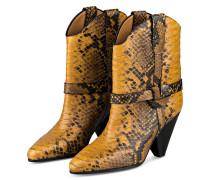 Cowboy Boots DEANE - DUNKELGELB/ SCHWARZ