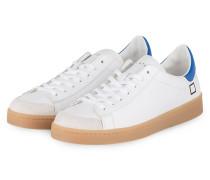 Sneaker TWIST CALF - WEISS/ BLAU