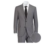 Anzug Shaped-Fit - grau