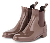 Gummi-Boots COMFY - HELLBRAUN