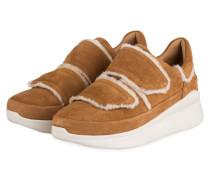Sneaker ASHBY SPILL SEAM - CAMEL