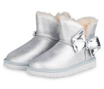 Boots MINI SEQUIN BOW - SILBER