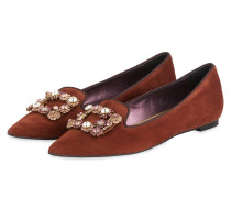 Slipper - COGNAC