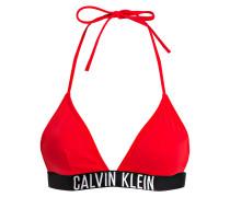 Triangel-Bikini-Top - rot
