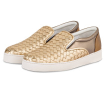 Slip-on-Sneaker - LIGHT GOLD