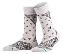 Socken BARRIO - hellgrau meliert