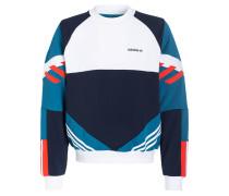 Sweatshirt - dunkelblau/ weiss/ petrol