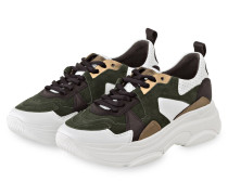 Sneaker CLOUD - GRÜN/ WEISS/ SCHWARZ