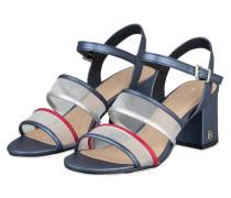 Sandaletten - BLAU/ TRANSPARENT