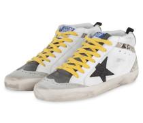 Hightop-Sneaker MID STAR - WEISS/ HELLGRAU