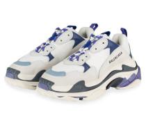 Sneaker TRIPLE S - WEISS/ BLAU