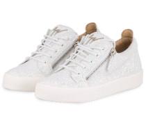 66f66e9ac6966c Sneaker GAIL GLITTER - WEISS. Giuseppe Zanotti