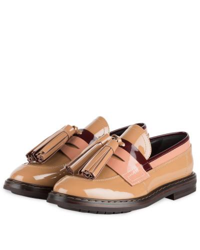 Tassel-Loafer - HELLBRAUN