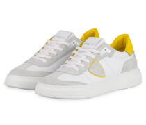 Sneaker TEMPLE - WEISS/ GRAU/ GELB
