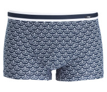 Boxershorts - navy/ weiss
