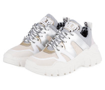 Sneaker - WEISS/ GRAU/ NUDE