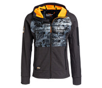 Softshell-Jacke MOUNTAIN im Materialmix